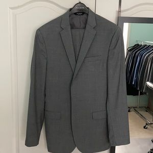 Other - Jos a bank solid gray slim fit 40L suit